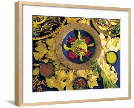 Nachos with Guacamole-Eric Horan-Framed Art Print