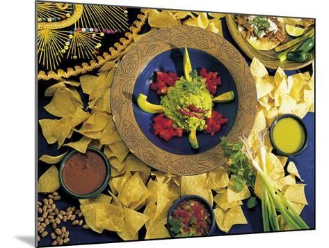 Nachos with Guacamole-Eric Horan-Mounted Photographic Print
