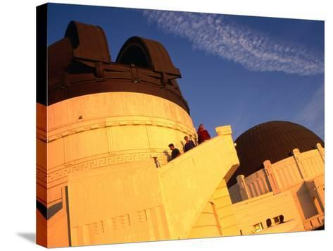 Griffith Observatory & Planetarium, Los Angeles, USA-Rick Gerharter-Stretched Canvas Print
