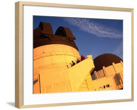 Griffith Observatory & Planetarium, Los Angeles, USA-Rick Gerharter-Framed Art Print