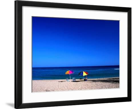 Montones Beach in Isabela, Isabela, Puerto Rico-Alfredo Maiquez-Framed Art Print
