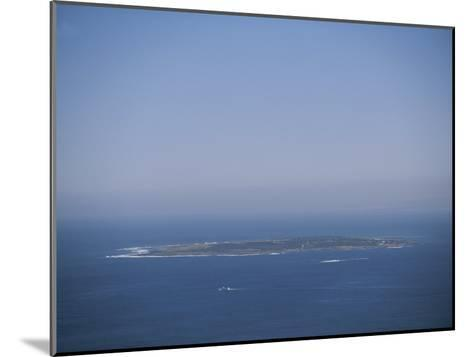 An Aerial View of Robben Island; Robben Island is Home to the Prison Where Nelson Mandela was Kept-Joel Sartore-Mounted Photographic Print