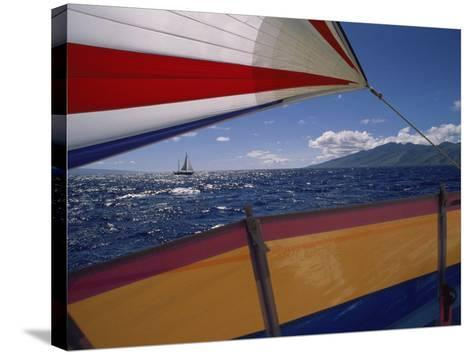 Sailing Detail--Stretched Canvas Print