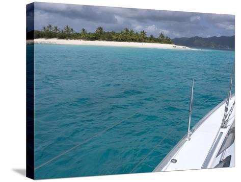 Sandy Cay, British Virgin Islands--Stretched Canvas Print