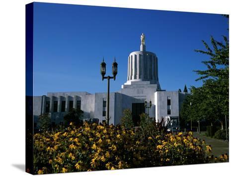 State Capitol, Salem, Oregon, USA--Stretched Canvas Print