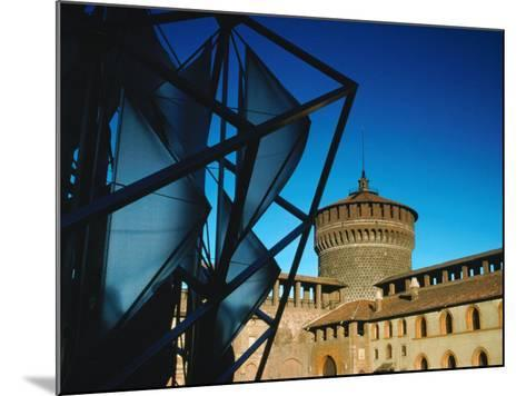 Both Old and New Buildings Milan, Lombardy, Italy-John Hay-Mounted Photographic Print