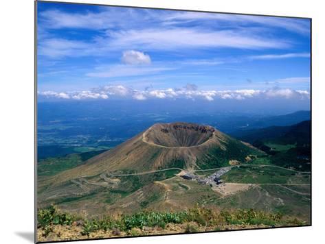 Crater of Zuma-Kofuji (Azuma's Little Mt. Fuji) on Bandai-Azuma Skyline, Fukushima, Japan-Martin Moos-Mounted Photographic Print