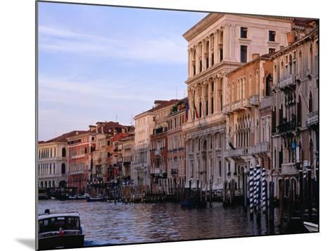 Buildings on Canal Venice, Italy-Glenn Beanland-Mounted Photographic Print