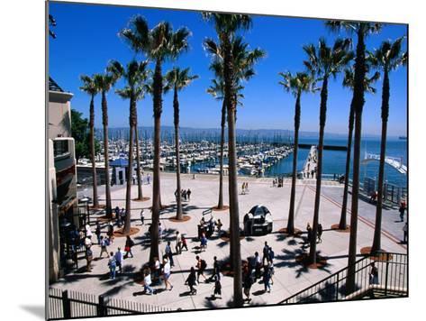 Marina Gate at Pacific Bell Park, San Francisco, California, USA-Roberto Gerometta-Mounted Photographic Print