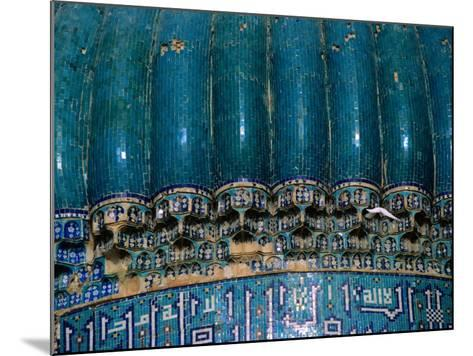 Detail of 15th Century Shrine of Khwaja Abu Nasr Parsa, Afghanistan-Stephane Victor-Mounted Photographic Print