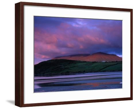 Stadbally and Bernoskee Mountains Seen from Clogbane, Dingle, Ireland-Gareth McCormack-Framed Art Print