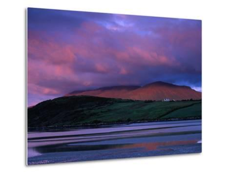 Stadbally and Bernoskee Mountains Seen from Clogbane, Dingle, Ireland-Gareth McCormack-Metal Print