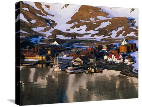 The Now Abandoned Grytviken Whaling Station in King Edward Point, Antarctica-Grant Dixon-Stretched Canvas Print