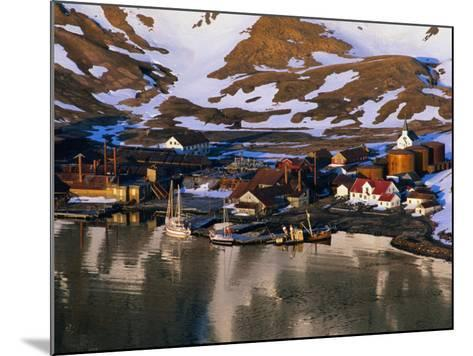 The Now Abandoned Grytviken Whaling Station in King Edward Point, Antarctica-Grant Dixon-Mounted Photographic Print
