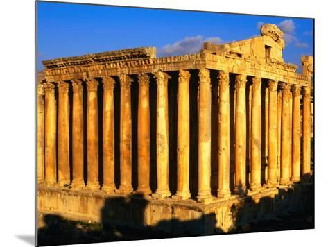 Exterior of Temple of Bacchus, Baalbek, Lebanon-Bethune Carmichael-Mounted Photographic Print