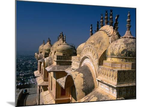 Nahargarh Fort, Jaipur, Rajasthan, India-Anders Blomqvist-Mounted Photographic Print