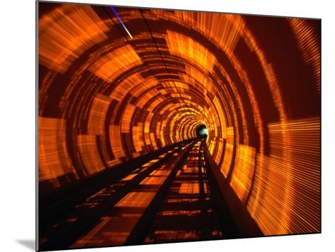 Inside Bund Tunnel, Shanghai, China-John Borthwick-Mounted Photographic Print
