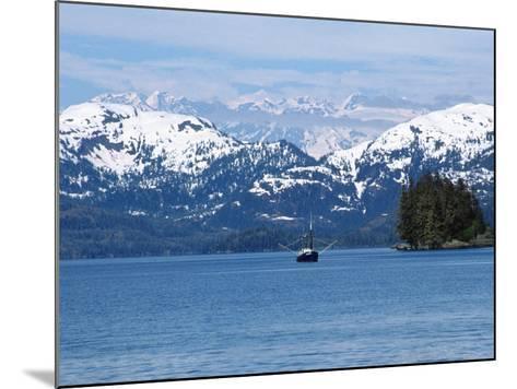 Fishing Trawler, AK-Michele Burgess-Mounted Photographic Print