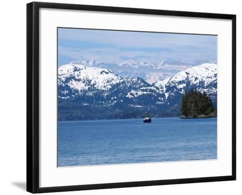 Fishing Trawler, AK-Michele Burgess-Framed Art Print