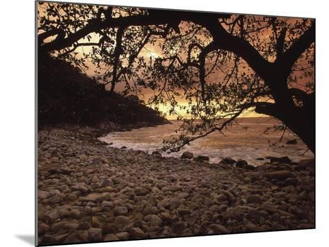 Secret Beach, Puerta Vallarta, Mexico-Walter Bibikow-Mounted Photographic Print