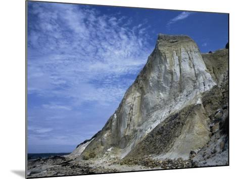 Gray Cliff, Gay Head Beach, Marthas Vineyard-Gary D^ Ercole-Mounted Photographic Print
