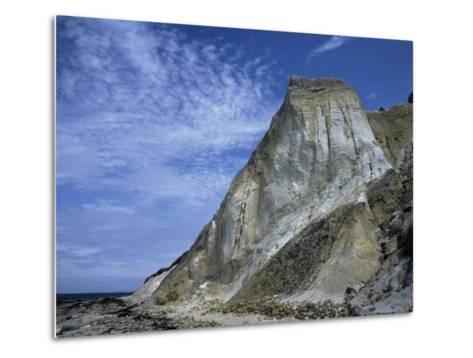 Gray Cliff, Gay Head Beach, Marthas Vineyard-Gary D^ Ercole-Metal Print