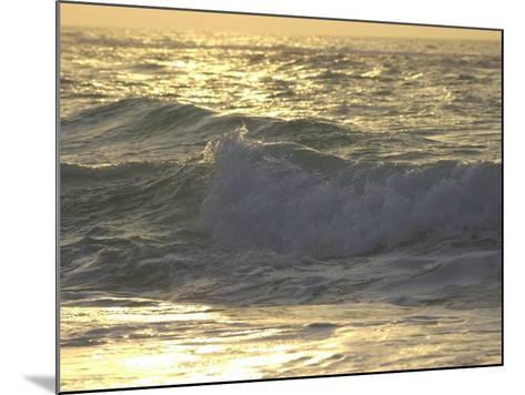 Ocean Wave, Playa Del Carmen, Mexico-Keith Levit-Mounted Photographic Print