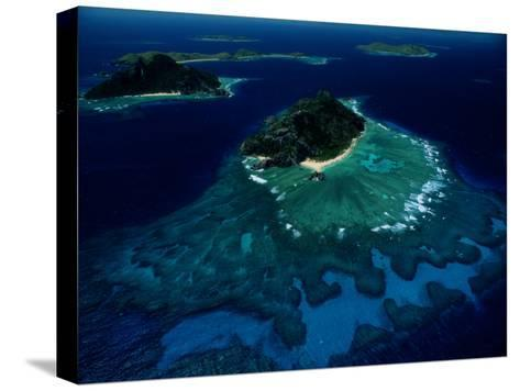 Aerial View of Melanesian Islands-James L^ Stanfield-Stretched Canvas Print