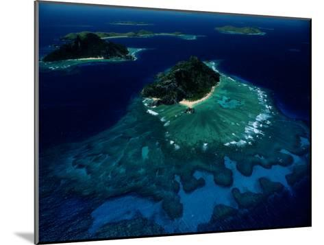 Aerial View of Melanesian Islands-James L^ Stanfield-Mounted Photographic Print