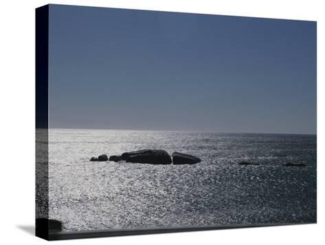 The Sun Glitters on the Atlantic Ocean off the Coast of South Africa-Stacy Gold-Stretched Canvas Print