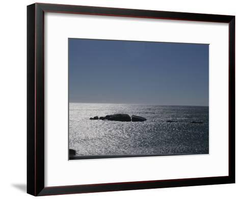The Sun Glitters on the Atlantic Ocean off the Coast of South Africa-Stacy Gold-Framed Art Print