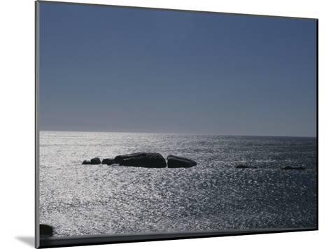 The Sun Glitters on the Atlantic Ocean off the Coast of South Africa-Stacy Gold-Mounted Photographic Print