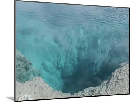 The Black Pool, West Thumb Geyser Basin, Yellowstone National Park-Norbert Rosing-Mounted Photographic Print