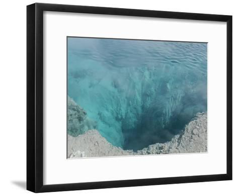 The Black Pool, West Thumb Geyser Basin, Yellowstone National Park-Norbert Rosing-Framed Art Print