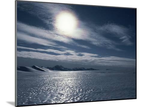 A Bare Ice Glacier Near the Southern Ellsworth Mountains-Gordon Wiltsie-Mounted Photographic Print