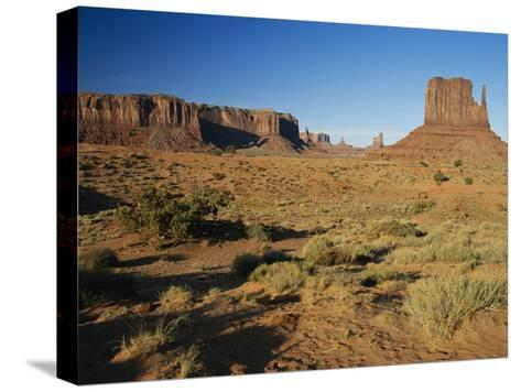 Sunset on Towers-Rich Reid-Stretched Canvas Print