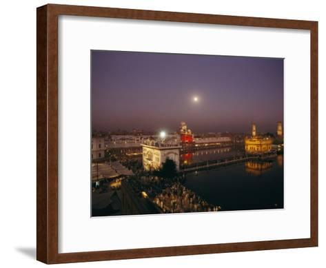 Night View of Amritsar-James P^ Blair-Framed Art Print
