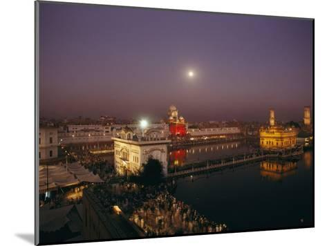 Night View of Amritsar-James P^ Blair-Mounted Photographic Print