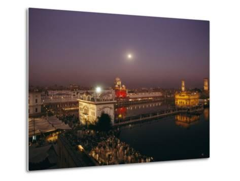 Night View of Amritsar-James P^ Blair-Metal Print