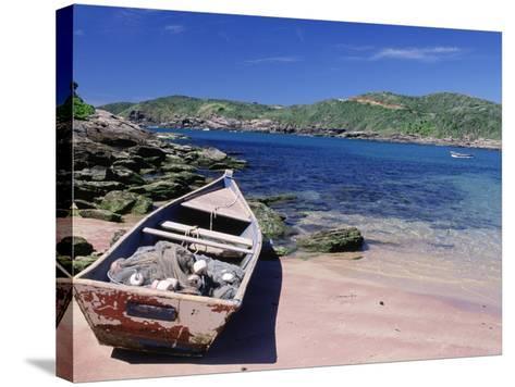 Forno Beach, Brazil-Silvestre Machado-Stretched Canvas Print