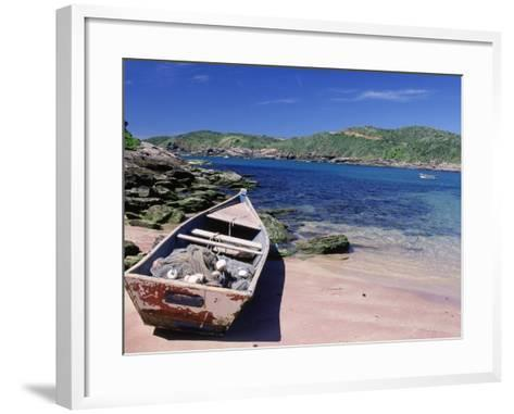 Forno Beach, Brazil-Silvestre Machado-Framed Art Print
