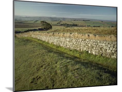 Hadrians Wall Looking East-Bill Curtsinger-Mounted Photographic Print