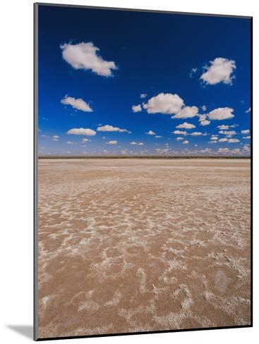 A Vivid Blue Sky Above Sand and Shallow Water-Jason Edwards-Mounted Photographic Print
