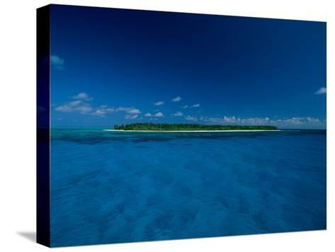 A View of an Island off the Coast of Belize-Wolcott Henry-Stretched Canvas Print