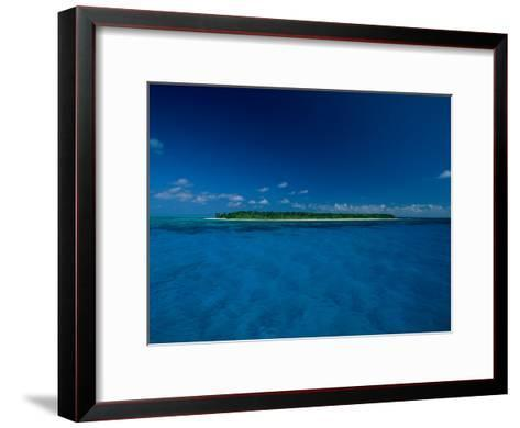 A View of an Island off the Coast of Belize-Wolcott Henry-Framed Art Print