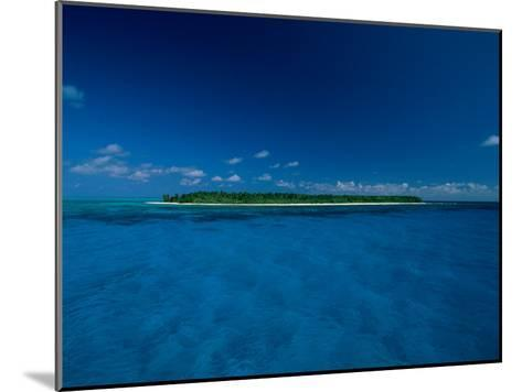 A View of an Island off the Coast of Belize-Wolcott Henry-Mounted Photographic Print