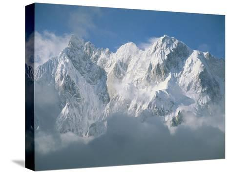 View of the Karakoram Ranges Snow-Covered K6 after a Storm-Jimmy Chin-Stretched Canvas Print