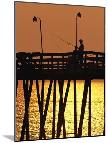 Fishing Pier at Rodanthe, North Carolina-Steve Winter-Mounted Photographic Print