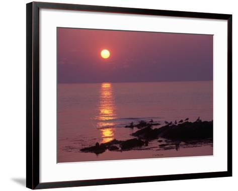 Sunrise, Bornholm, Denmark-Tina Buckman-Framed Art Print
