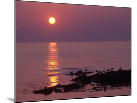 Sunrise, Bornholm, Denmark-Tina Buckman-Mounted Photographic Print